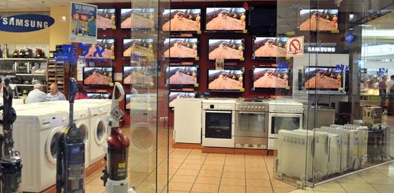 חנות מוצרי חשמל / צלם: תמר מצפי